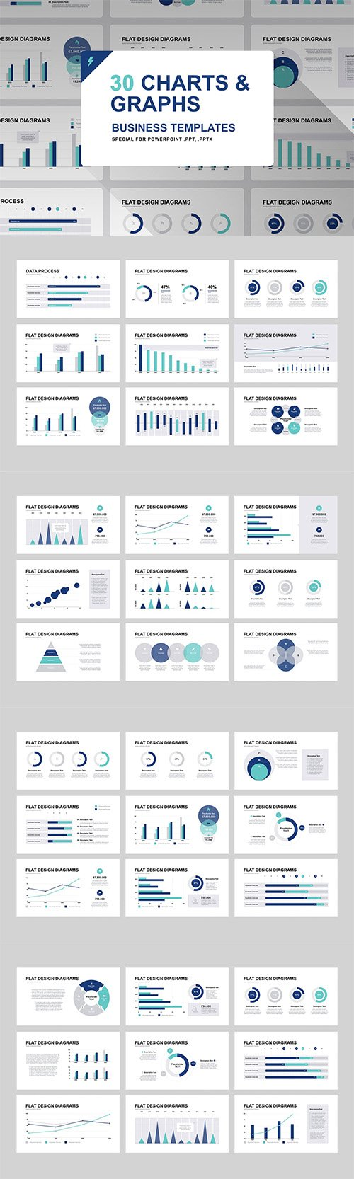Graphs and Charts for PowerPoint and Keynote